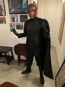 X-Men 2000 Magneto Costume Helmet Cosplay Mutant Adult