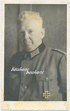 Foto Portrait Offizier mit EK1-teils coloriert   2.WK  (d717)