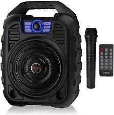 Earise T26 Portable Karaoke Machine Bluetooth Speaker with Wireless Microphone
