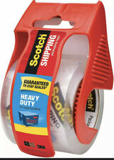 Scotch Heavy Duty Shipping Packaging Tape, 1 Roll with Dispenser✅FAST✅FREE SHIP