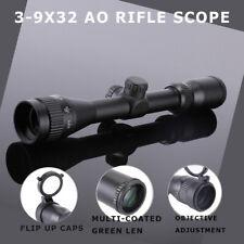HD 3-9X32 AO Rifle Scope Fits Air Gun, Airsoft Gun, Rifles, Water & Fog-Proof