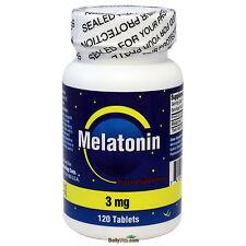 Melatonin 3mg 120 Tablets, Sleeping Aids, 4 Months Supply