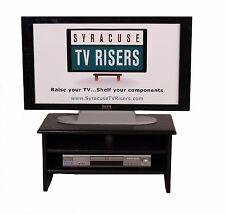 """4-TIER"" BLACK TV RISER- 26""wide x 14""deep x 12 1/2 high By Syracuse TV Risers"