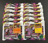 Pokemon Unified Minds Booster Box 36 Sealed Packs Stakataka Vikavolt Blisters