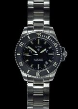 MWC Military Divers Watch with Ceramic Bezel, Sapphire Crystal & 10 Year Battery