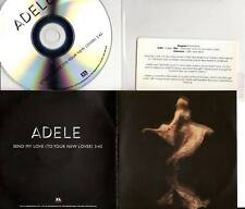 Adele 1 trk PROMO CD Send My Love (To Your New Lover)