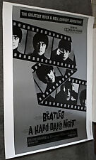 A HARD DAY'S NIGHT original ROLLED 30x40 movie poster THE BEATLES