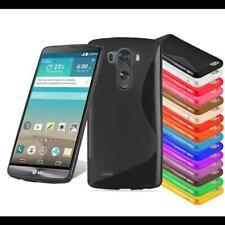 Custodia Cover Silicone per LG Case Disegno S-Line TPU Bumper Protezione