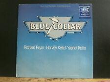BLUE COLLAR  Original Soundtrack  LP   Beefheart  Ry Cooder  Howlin' Wolf  etc