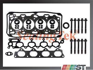Fit 99-05 Mitsubishi 2.4L SOHC 4G64 Engine Cylinder Head Gasket Set w/ Bolts Kit