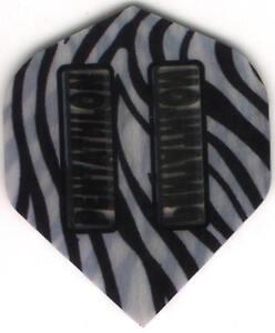 Zebra Stripes PENTATHLON Dart Flights: 3 per set