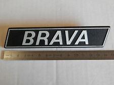 BADGE LOGO SCRITTA  VINTAGE FIAT 131 BRAVA