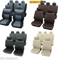 Für AUDI A1 Autositzbezüge / Sitzbezüge Dakar braun grau beige anthrazit