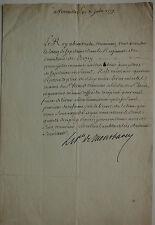 Rang de Capitaine dans le Régiment de Berry. De Montbarey. 1779.
