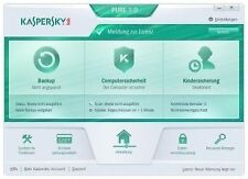 Antivirus- & Sicherheits-Softwares Kaspersky als CD