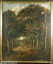 "19th Century Sheep Herber in Forrest ""style of"" Narcisse Virgile Diaz de la Pena"