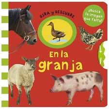 Gira y Descubre: En la Granja by Priddy Books (2013, Hardcover)