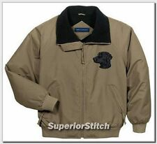 Curly Coated Retriever embroidered jacket Any Color