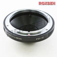 Canon FD mount lens to c mount 16mm film caméra adaptateur eclair numérique Bolex NPR
