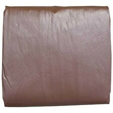 8' Pool Table Cover - Heavy Duty Commercial Brown Naugahyde Billiard Cover