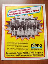 Pubblicità-Advertising 1997 PIPPO LA SCOPA