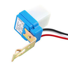 Durable Auto On Off Street Light Switch Photo Control Sensor for AC/DC 12V