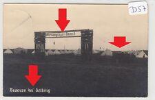 1805, Fotokarte Pimpfe Schleswiglager Bann 6 / Gelting gelaufen 1937 !