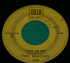 """The Beatles Love Me Do / P.S. I Love You 7"""" 45 Vinyl Record T-9008 Tollie 1964"""