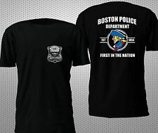 NEW BOSTON POLICE DEPARTMENT T SHIRT S-4XL