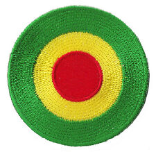 Patche patch écusson Cocarde Africa Rasta thermocollant