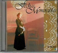 Fechas Memorables  Las Mañanitas/Happy Birthday y Otros Mas  BRAND NEW SEALED CD