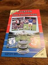 EVERTON V SOUTHAMPTON 1984 FA CUP SEMI FINAL PROGRAMME MINT LOOK FREE POSTAGE