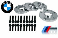 4 BMW X5 E53 15 MM & 20 MM Hub Centric Wheel Spacers W/ Black 14x1.5 Lug Bolt