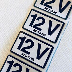 "Landrover Sticker ""12V""  (Brand New)"