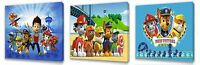 Paw Patrol II Kids canvas wall art plaque pictures set of three