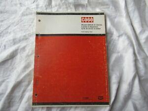 1974 Case 680CK 680 CK loader backhoe tractor parts catalog book manual