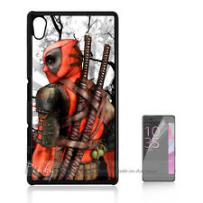 ( For Sony Z3 ) Back Case Cover P11289 Deadpool Ninja