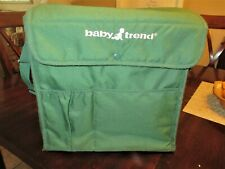 Baby Trend Back Pack & Case, Green, Excellent Condition
