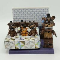Five Nights At Freddy's THE BED Nightmare Freddy Construction Set McFarlane Toys