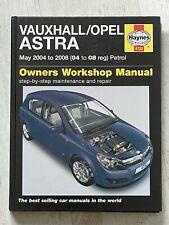 Haynes Manual 4732 - Vauxhall/Opel Astra, 2004 to 2008, petrol
