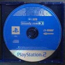 promo BLOODY ROAR 3 PlayStation 2 UK PAL English・♔・pre-release full game PS2