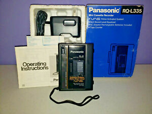 PANASONIC MODEL NO. RQ-L335 CASSETTE RECORDER TAPE VAS MINI