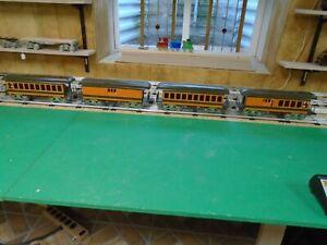 McCoy Standard gauge train 4 car passenger set GREAT NORTHERN     ONLY SET MADE