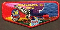 MERGED MIKANAKAWA OA LODGE 101 56 OKICIYAPI BSA CIRCLE TEN TX MERGER DEATH FLAP