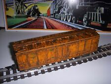 Custom Weathered/Rusted/Distress ed American Flyer Illinois Central 923 Box Car