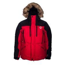 Men's Polo Ralph Lauren Sport Explorer Trail Down Parka Jacket Red Size Large