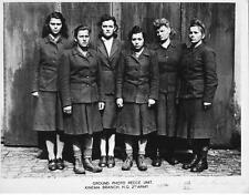 Photo. 1945. WW2. Female Guards at Bergen Belsen Concentration Camp