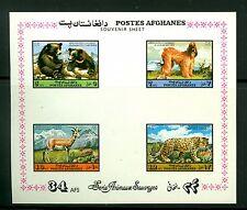 Afghanistan 1974, Animals, Dog, Bear, Leopard, Goat, SC# 896a, MNH 224
