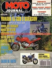 MOTO JOURNAL 1010 Essai Road Test YAMAHA XJ 600 S Diversion HARLEY DAVIDSON 1991