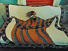 "Tapestry Made in USA North Carolina 60"" x 50"" Throw/ Wall Art"